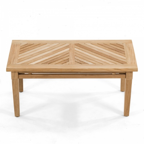outdoor wooden teak coffee table