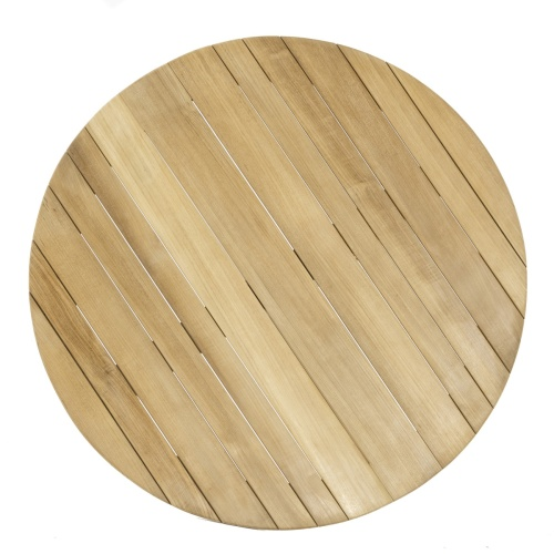 Round Teakwood Garden Table