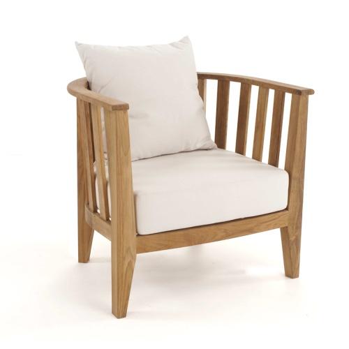 Teak Depp Seating Chairs