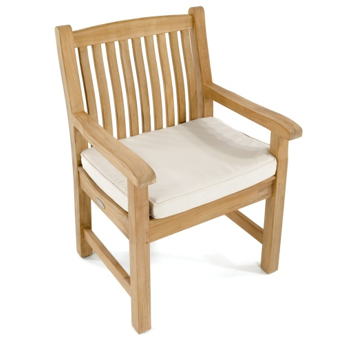 westminster teak veranda arm chair