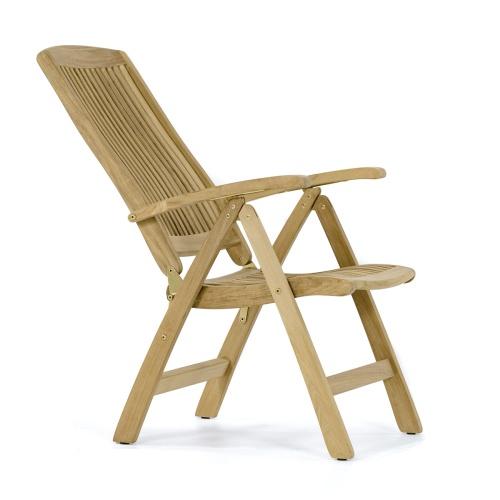 Amazing Barbuda Teak Recliner Westminster Teak Onthecornerstone Fun Painted Chair Ideas Images Onthecornerstoneorg