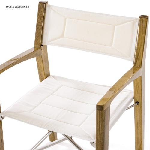 Folding Yacht Directors Chairs