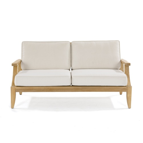 club sofa frame color teak