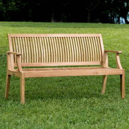 Teak Wood Bench Outdoor