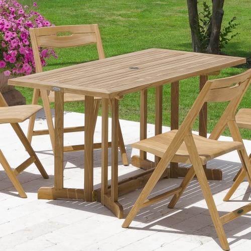 Teak Folding Table Sets