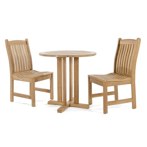 patio teak furniture dinette set