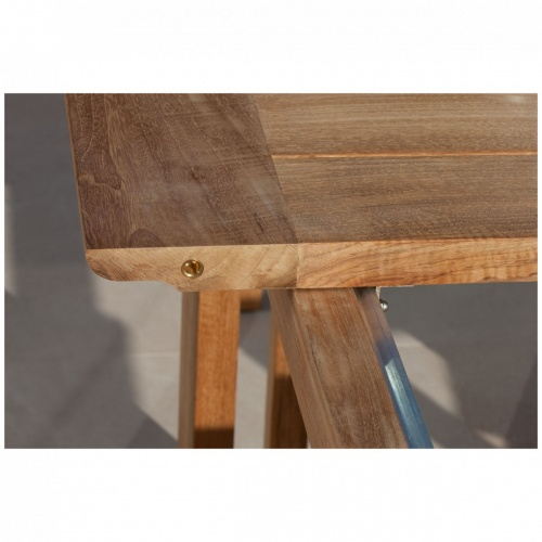 rectangular teak tables