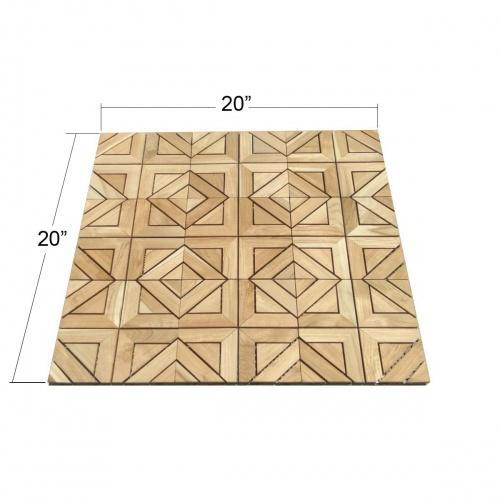 Westminster Teak Tiles