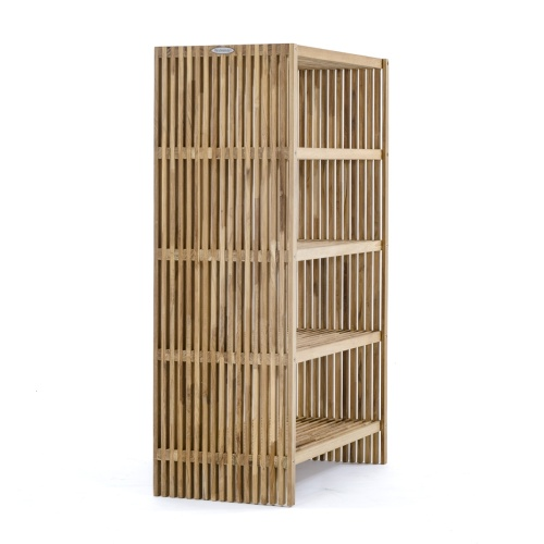Teak Bookcase Shelving Unbit