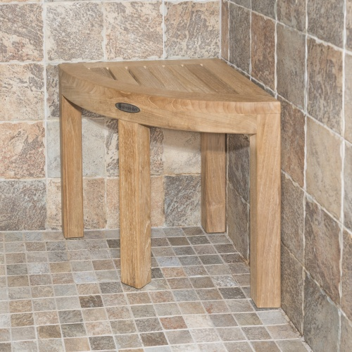Teak Corner Shower Bench Sale