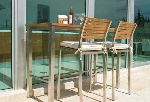 long teak tables