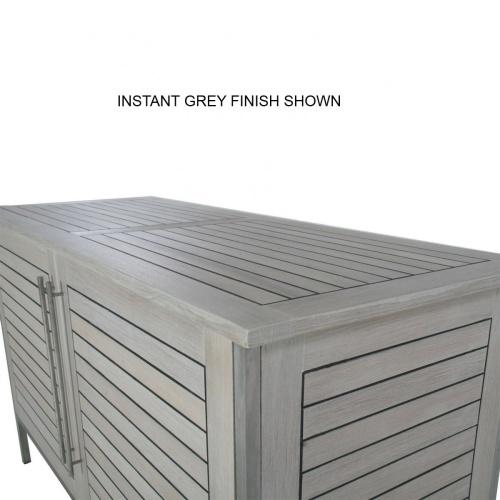 outdoor teak storage chests