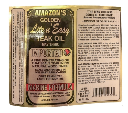 lite n easy teakwood oil