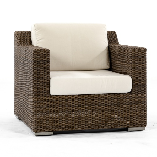 Summer Grass Deep Seating Wicker Chair