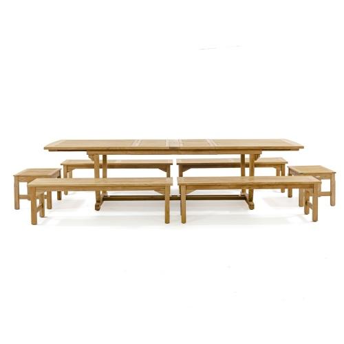 teak picnic set
