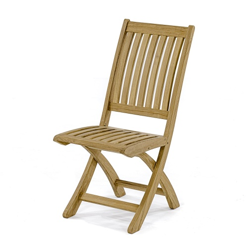 folding wooden sidechair