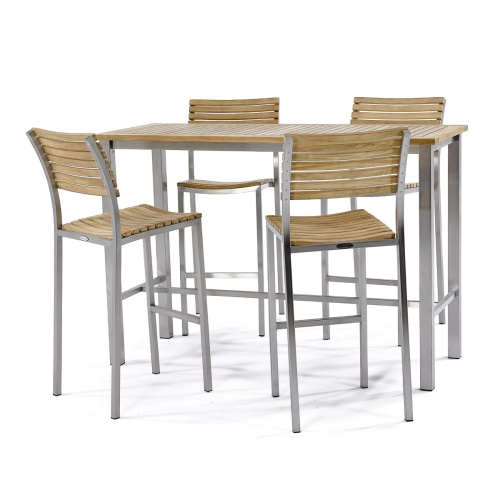 teak patio bar sets