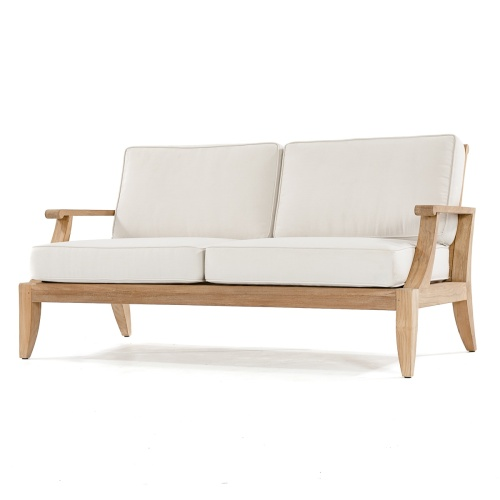 wooden sofa couch