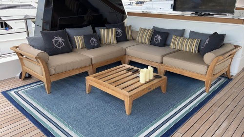 teak patio furniture outdoor sectional