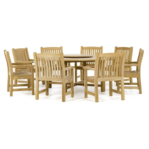 round dining set for 8