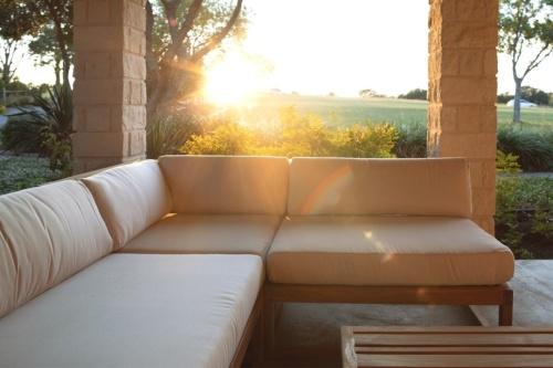 Wooden Modular Outdoor Lounge Furniture