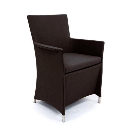 textilene armchairs