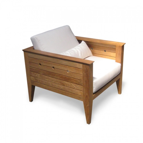 deep seating teak sets