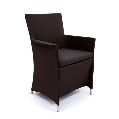 small round teak tables