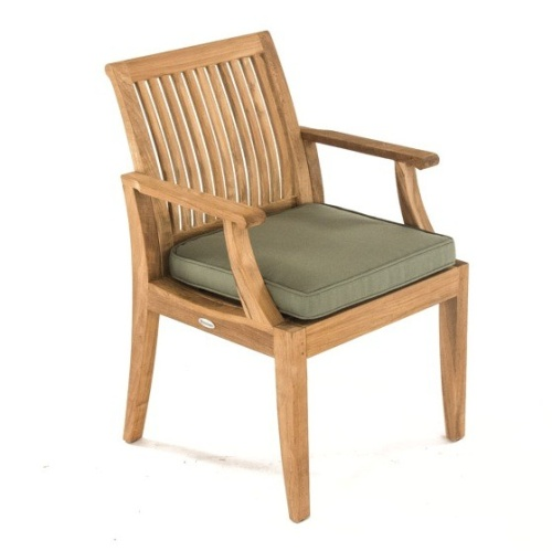 unfinshed teak dining chairs