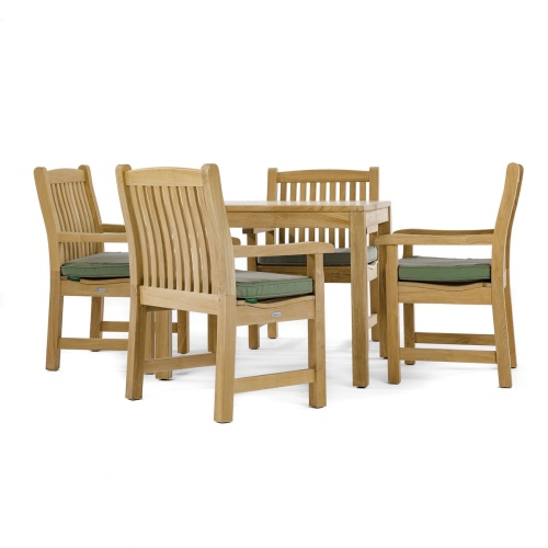 teak height bistro set