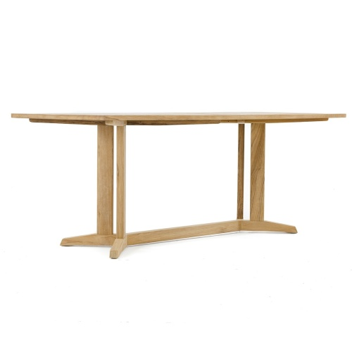wood dining height rectangled table