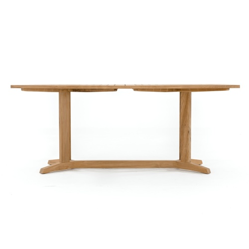 teak rectangular patio table