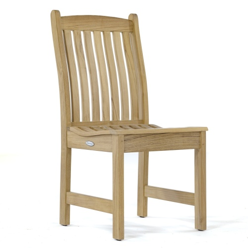 solid teak outside chairs