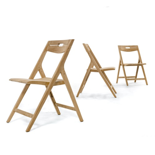 folding teak chairs without arms