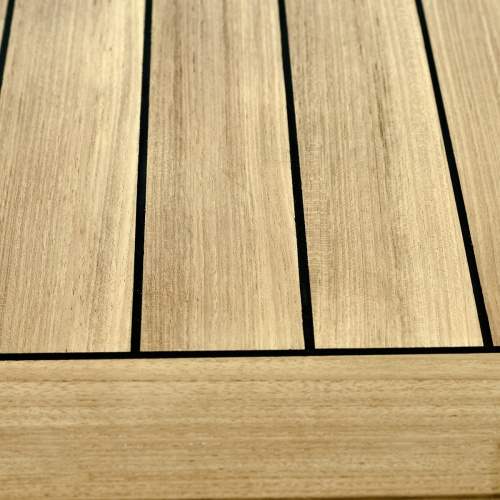 outdoor teak table top