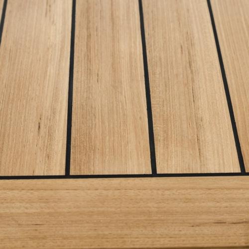 yacht teakwood table tops