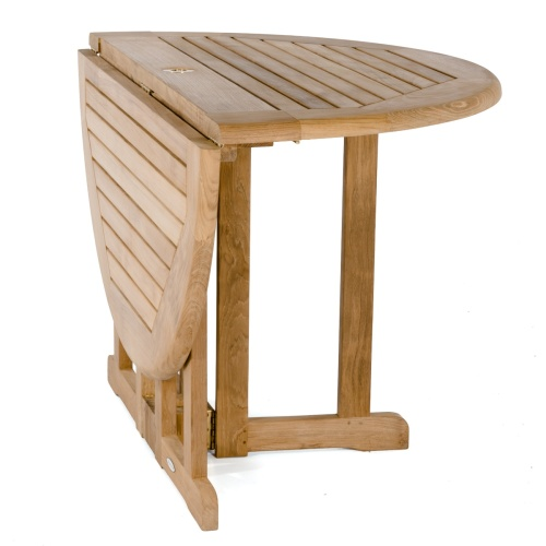 outdoor wood round tables folding