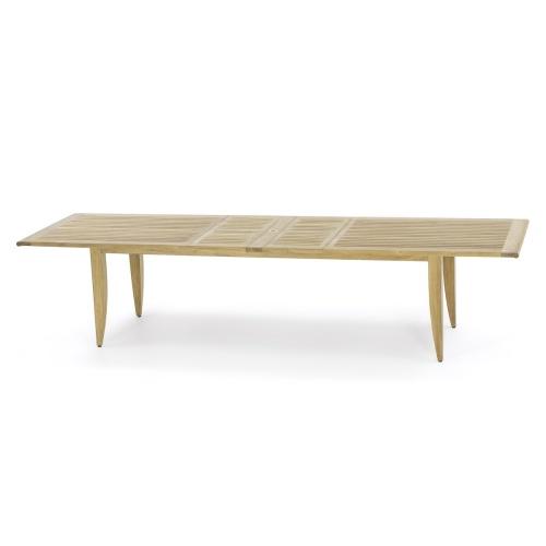 teakwood grand extension table