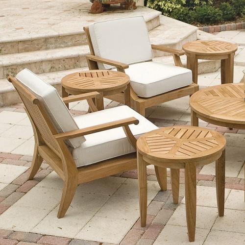 world market deep seating teak chairs