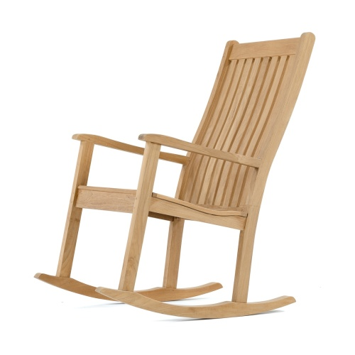 teak rocking chair outdoor furniture