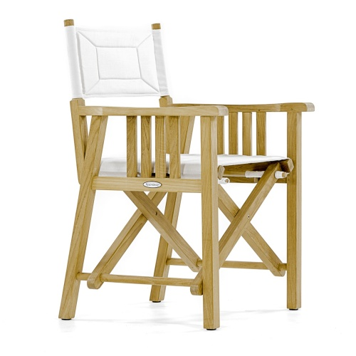 outdoor directors chair teak