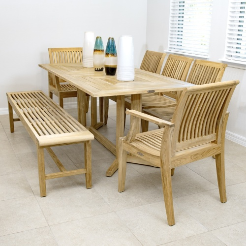 Wooden Backless Benches