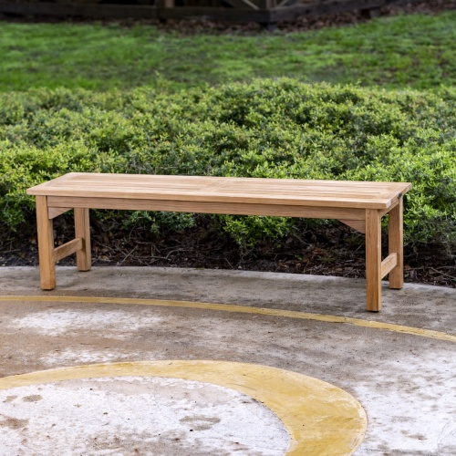 teak backless shower benches