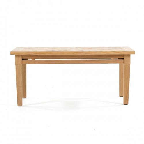 brighton teak coffee table