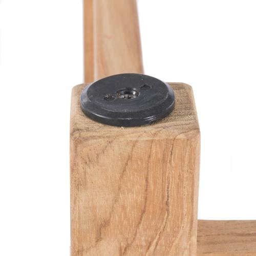 console teakwood high table