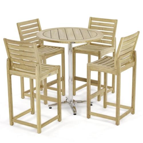 outdoor patio high bar sets