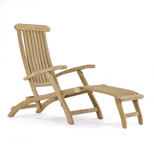 Teak Steamer Deck Chair