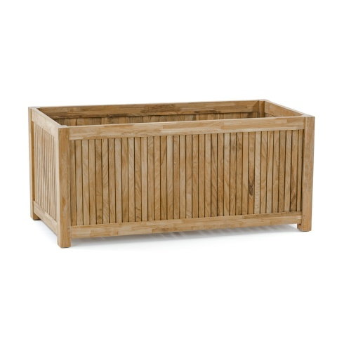 Wooden Rectangular Flower Garden Box