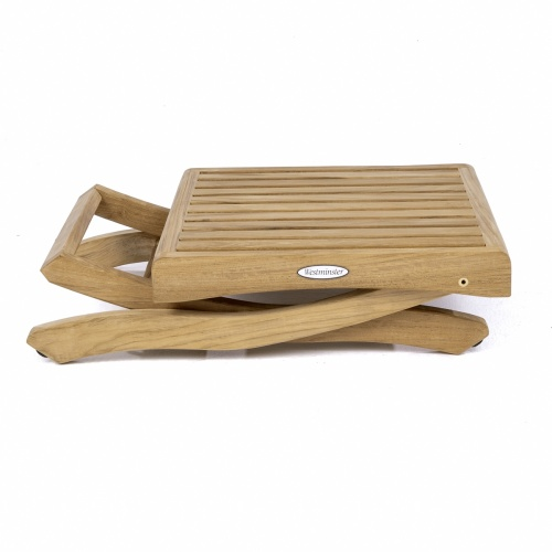 teak shower foot stool