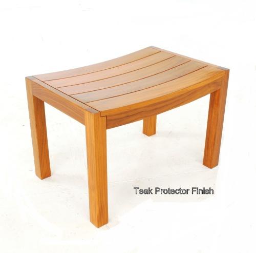 teak bath stools